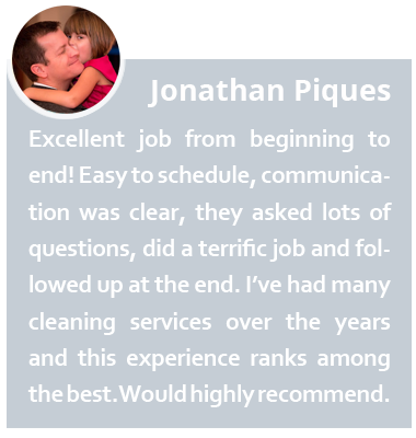House and Home Cleaning Service testimonial